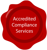 accredited compliance services badge